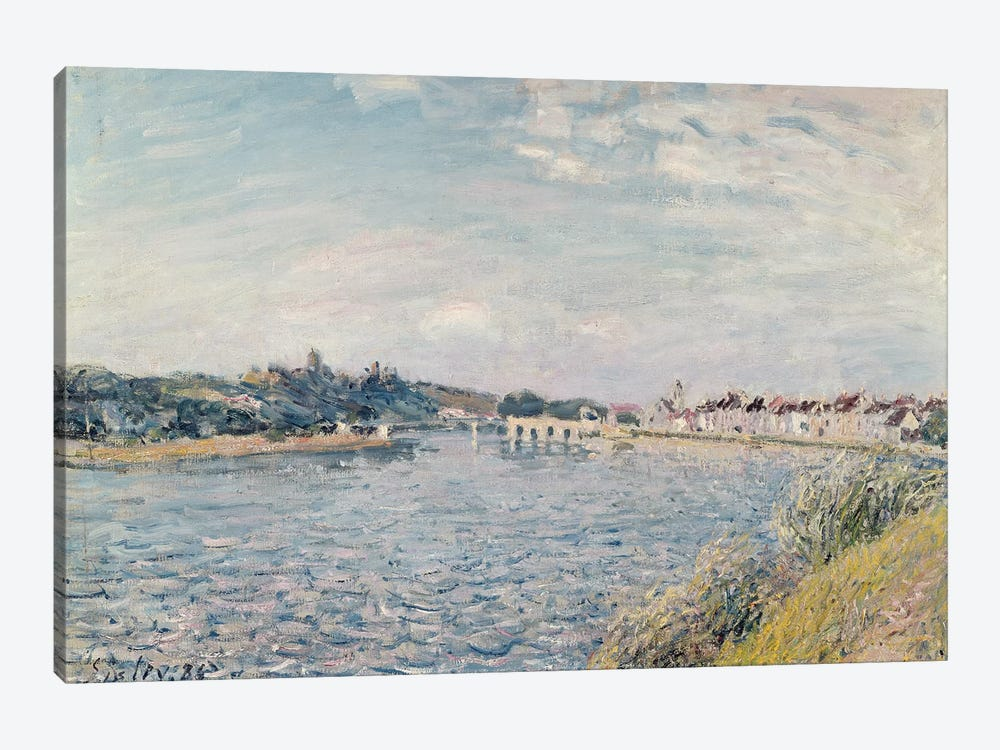 Landscape, 1888  by Alfred Sisley 1-piece Canvas Wall Art