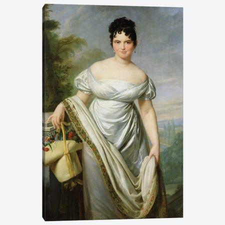 Madame Tallien  Canvas Print #BMN2986} by Jacques-Louis David Canvas Artwork