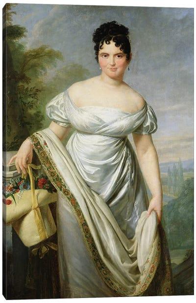 Madame Tallien  Canvas Art Print