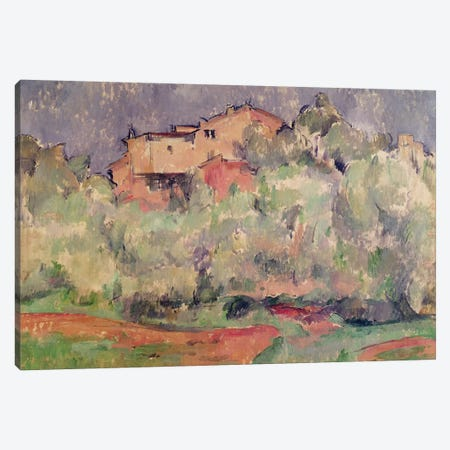 The House at Bellevue, 1888-92  Canvas Print #BMN2987} by Paul Cezanne Canvas Art