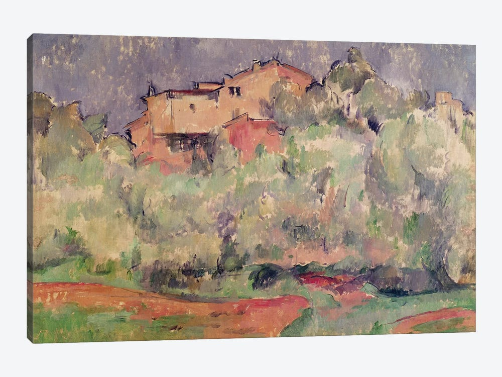 The House at Bellevue, 1888-92  by Paul Cezanne 1-piece Canvas Wall Art