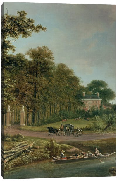 A Country House Canvas Art Print