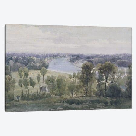 Richmond Hill, 1830  Canvas Print #BMN3004} by Anthony Vandyke Copley Fielding Canvas Wall Art