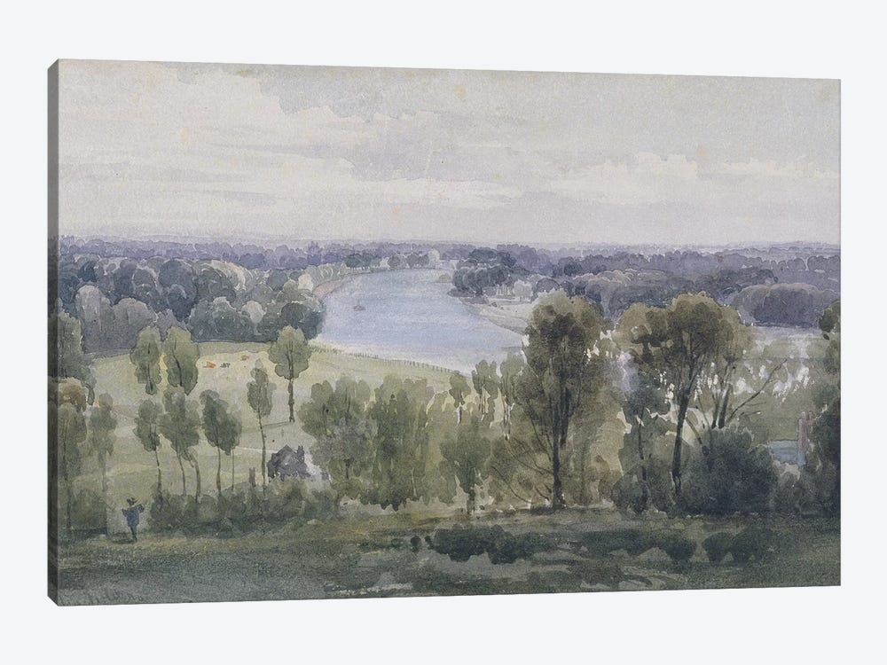 Richmond Hill, 1830  by Anthony Vandyke Copley Fielding 1-piece Art Print