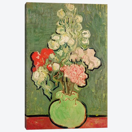 Bouquet of flowers, 1890  Canvas Print #BMN3012} by Vincent van Gogh Canvas Artwork