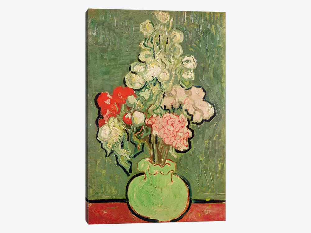 Bouquet of flowers, 1890  by Vincent van Gogh 1-piece Canvas Art