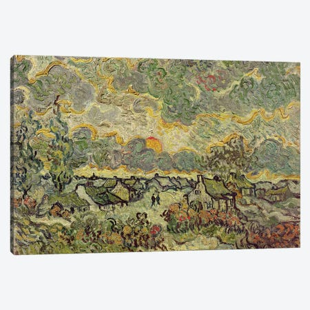Autumn landscape, 1890  Canvas Print #BMN3014} by Vincent van Gogh Art Print