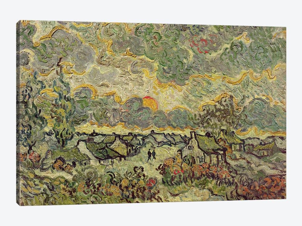 Autumn landscape, 1890  by Vincent van Gogh 1-piece Canvas Wall Art