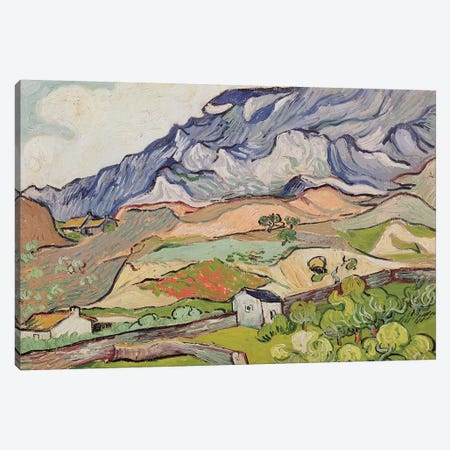 The Alpilles, 1890  Canvas Print #BMN3016} by Vincent van Gogh Art Print