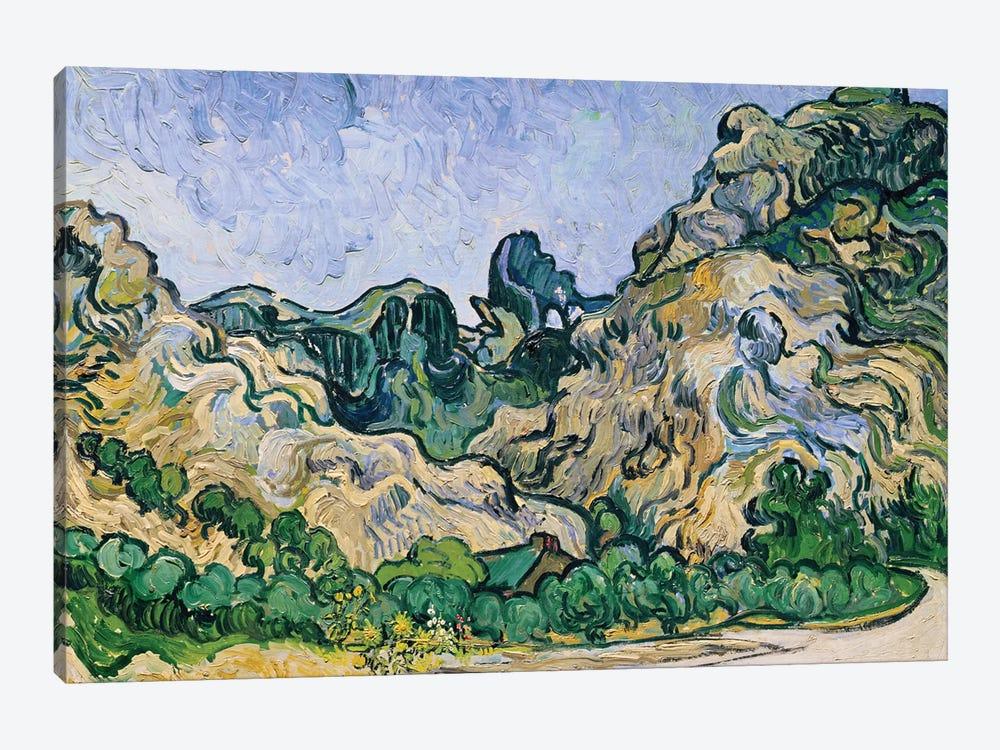 The Alpilles, 1889  by Vincent van Gogh 1-piece Canvas Art