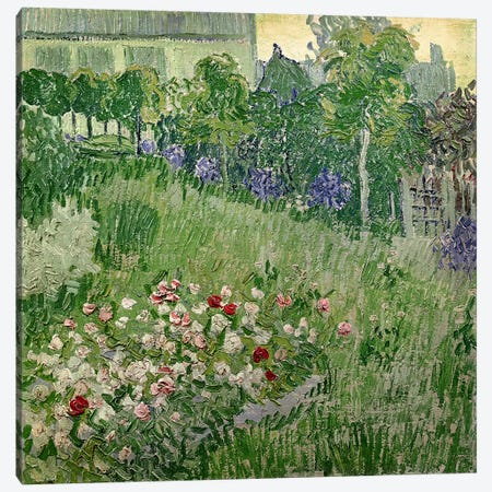 Daubigny's garden, 1890  Canvas Print #BMN3019} by Vincent van Gogh Canvas Art