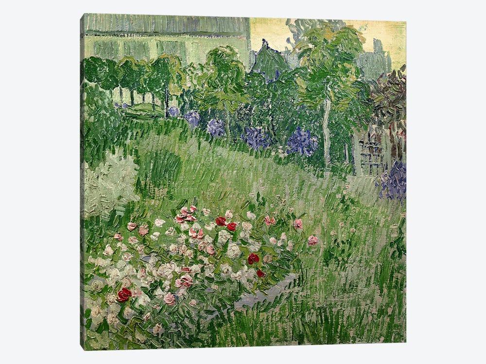 Daubigny's garden, 1890  by Vincent van Gogh 1-piece Art Print