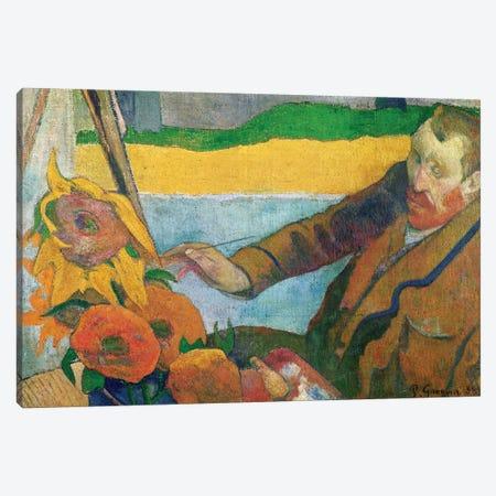 Van Gogh Painting Sunflowers, 1888 Canvas Print #BMN3020} by Paul Gauguin Canvas Art Print