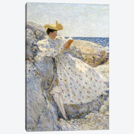 Summer Sunlight, Isles of Shoals, 1892  Canvas Print #BMN3022} by Childe Hassam Canvas Art Print