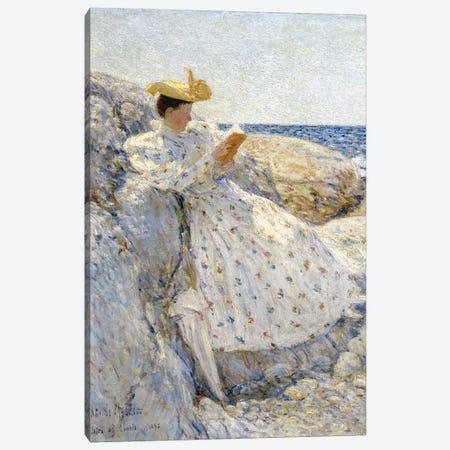 Summer Sunlight, Isles of Shoals, 1892  Canvas Print #BMN3022} by Childe Hassam Canvas Art Print