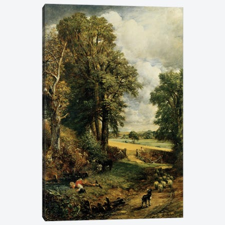 The Cornfield, 1826  Canvas Print #BMN3056} by John Constable Canvas Print