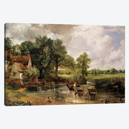 The Hay Wain, 1821  Canvas Print #BMN3057} by John Constable Art Print