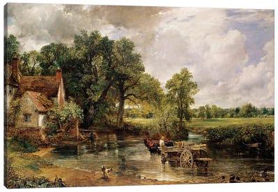 The Hay Wain, 1821  Canvas Art Print