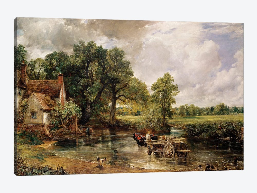 The Hay Wain, 1821  by John Constable 1-piece Canvas Art Print