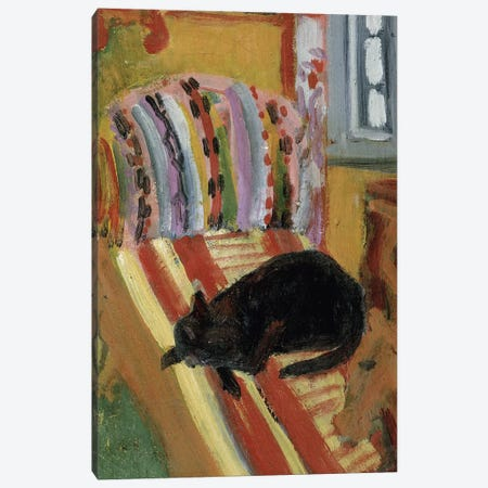 The Living Room, 1920   Canvas Print #BMN3064} by Ernst Ludwig Kirchner Canvas Wall Art