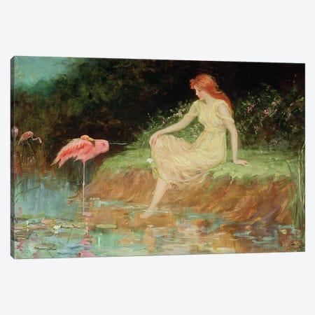 A Trusting Moment  Canvas Print #BMN3073} by Frederick Stuart Church Canvas Wall Art
