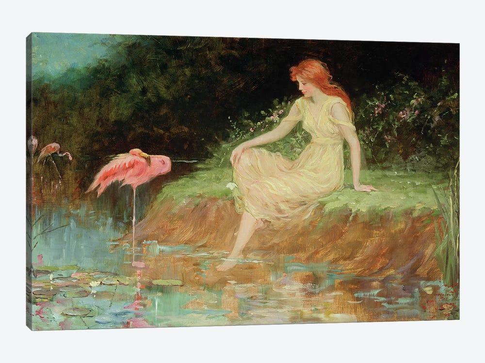 A Trusting Moment  by Frederick Stuart Church 1-piece Art Print