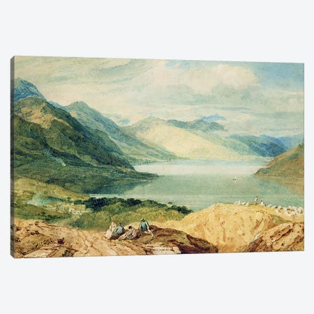 Loch Lomond  Canvas Print #BMN3092} by J.M.W. Turner Canvas Wall Art