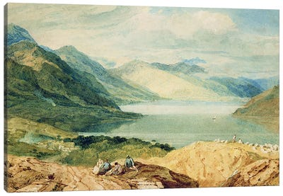 Loch Lomond  Canvas Art Print
