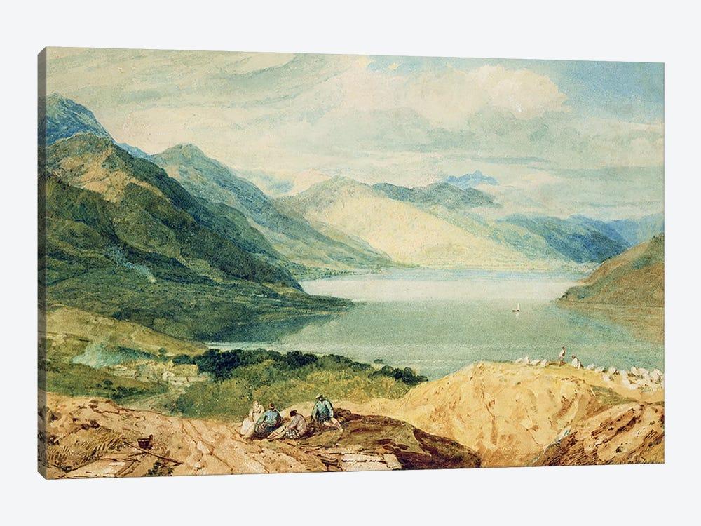 Loch Lomond  by J.M.W. Turner 1-piece Canvas Art