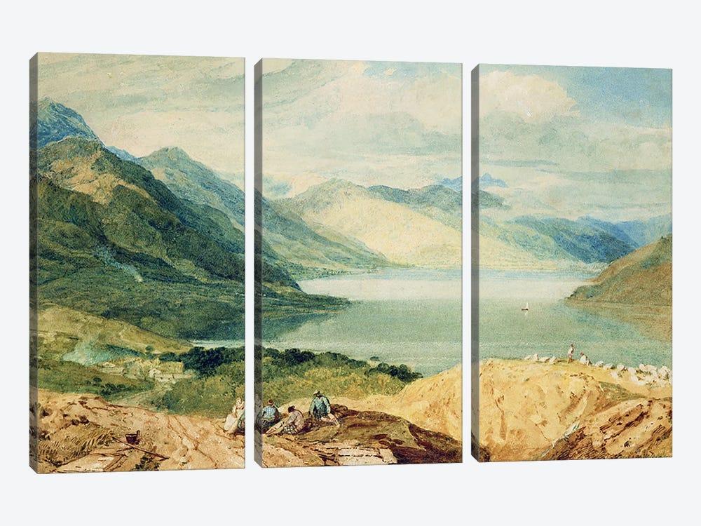 Loch Lomond  by J.M.W. Turner 3-piece Canvas Art