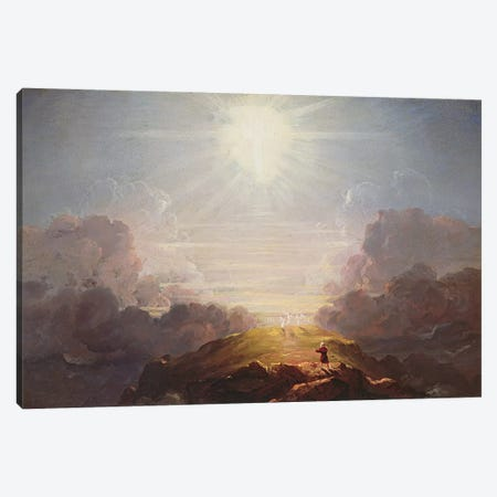 Study for the Cross and the World, c.1846  Canvas Print #BMN3097} by Thomas Cole Canvas Art Print