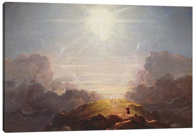 Study for the Cross and the World, c.1846  Canvas Art Print