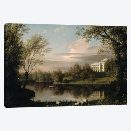 View of the Pavlovsk Palace, c.1800  Canvas Print #BMN3099} by Carl Ferdinand von Kugelgen Canvas Wall Art