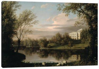 View of the Pavlovsk Palace, c.1800  Canvas Art Print