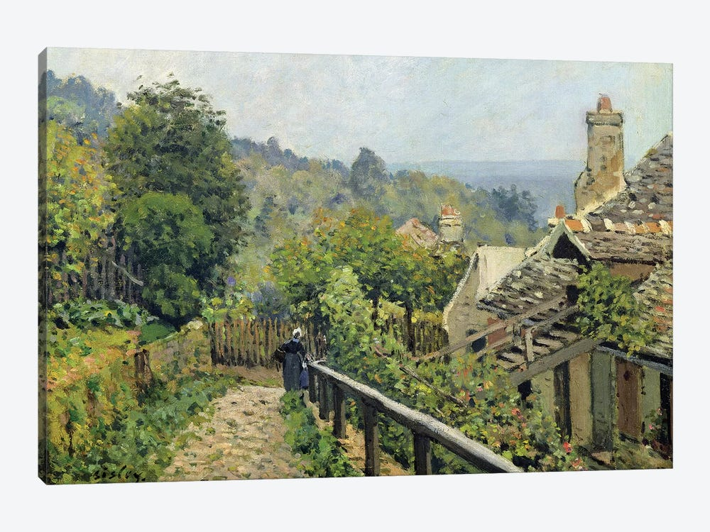 Louveciennes or, The Heights at Marly, 1873  by Alfred Sisley 1-piece Art Print