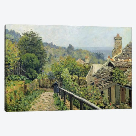 Louveciennes or, The Heights at Marly, 1873  Canvas Print #BMN311} by Alfred Sisley Canvas Art