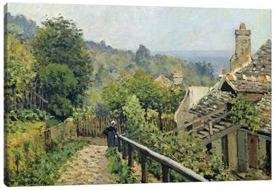 Louveciennes or, The Heights at Marly, 1873  Canvas Art Print