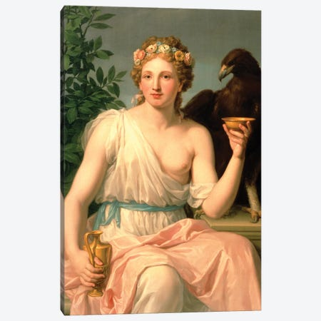 Hebe, 1784  Canvas Print #BMN3127} by Francisco Javier Ramos y Albertos Art Print