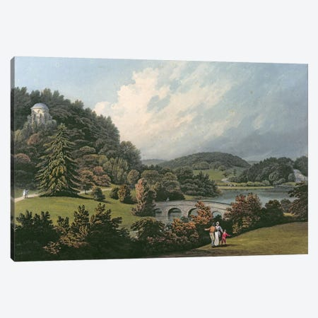 Stourhead  Canvas Print #BMN3132} by Francis Nicholson Canvas Print