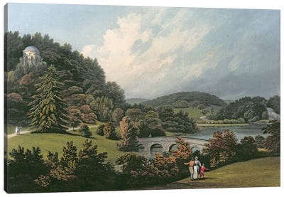 Stourhead  Canvas Art Print