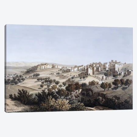 Bethlehem, engraved by Terry  Canvas Print #BMN3137} by Dutch School Canvas Artwork