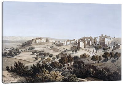 Bethlehem, engraved by Terry  Canvas Art Print