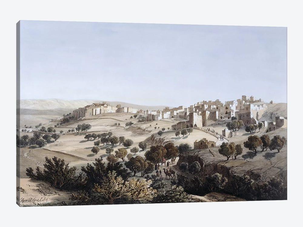 Bethlehem, engraved by Terry  by Dutch School 1-piece Canvas Wall Art