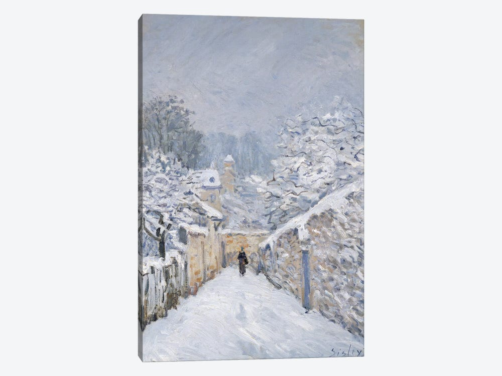 Snow at Louveciennes, 1878  by Alfred Sisley 1-piece Art Print