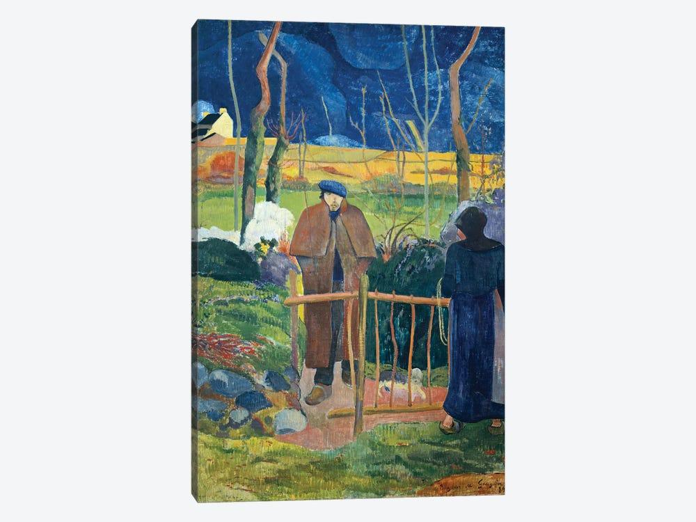 Bonjour, Monsieur Gauguin, 1889  by Paul Gauguin 1-piece Canvas Wall Art