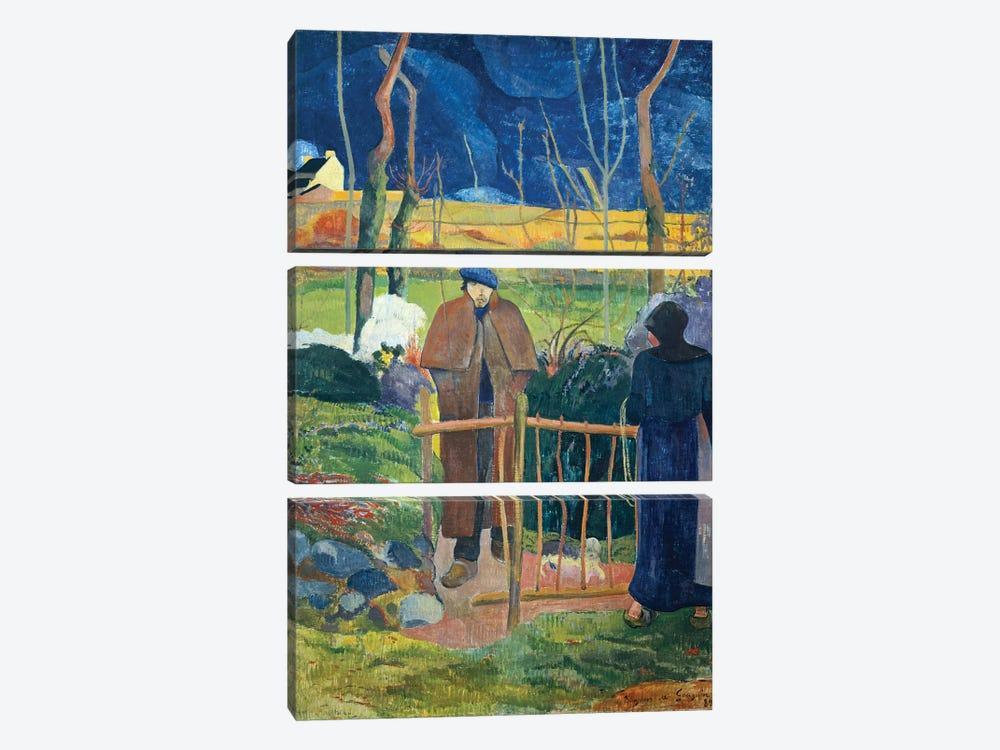 Bonjour, Monsieur Gauguin, 1889  by Paul Gauguin 3-piece Canvas Artwork