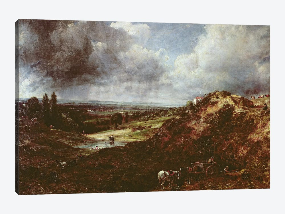 Branch Hill Pond, Hampstead Heath, 1828  by John Constable 1-piece Art Print