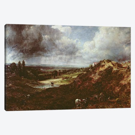 Branch Hill Pond, Hampstead Heath, 1828  3-Piece Canvas #BMN3178} by John Constable Canvas Art Print