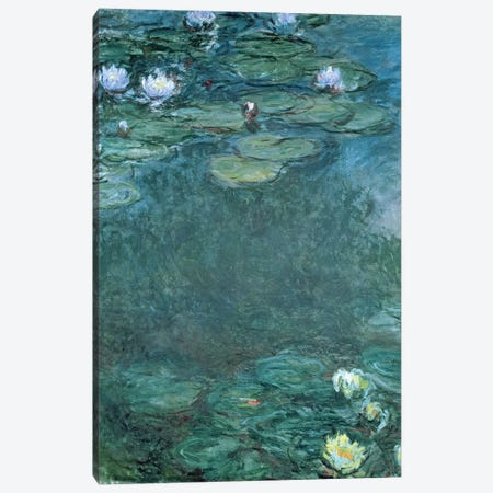 Water-Lilies  Canvas Print #BMN3181} by Claude Monet Canvas Wall Art