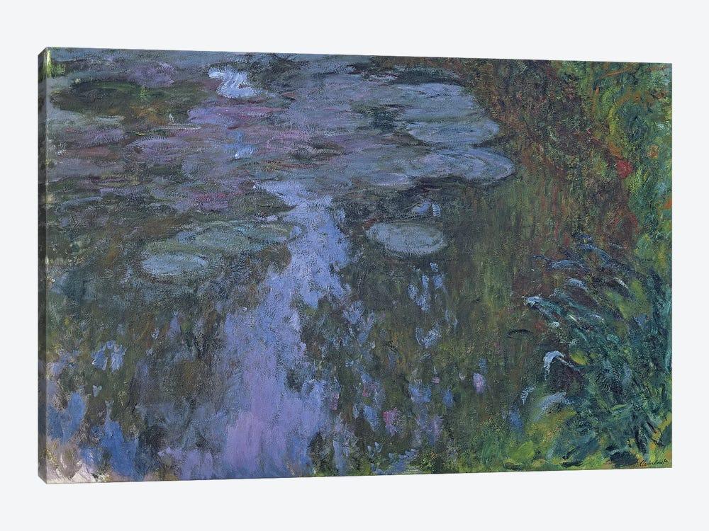 Nympheas  by Claude Monet 1-piece Canvas Wall Art